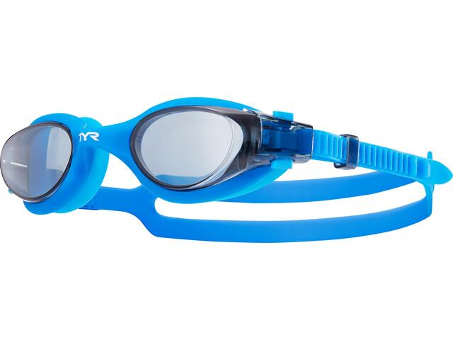 TYR Vesi Goggles Herren smoke/blue